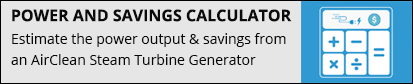 Steam Turbine Generator Calculator